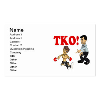 TKO 3 BUSINESS CARD TEMPLATES