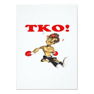 """TKO 5"""" X 7"""" INVITATION CARD"""
