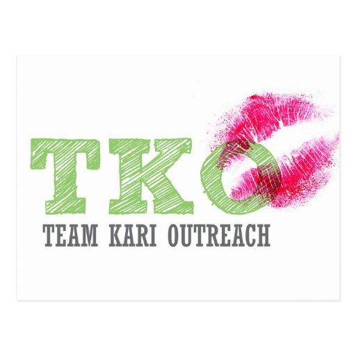 TKO - Lipstick Postcard