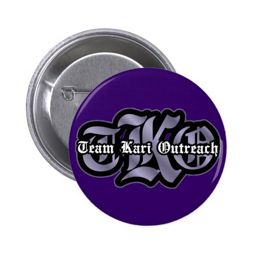 TKO - Old English 2 Inch Round Button