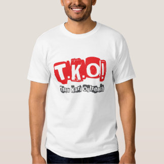 TKO:  Old Punk Style T-shirt