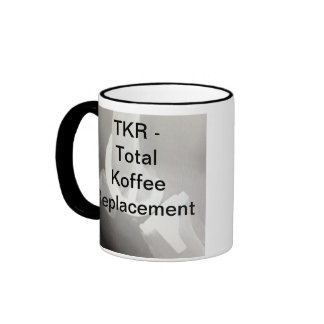TKR - Reemplazo total de Koffee Taza A Dos Colores