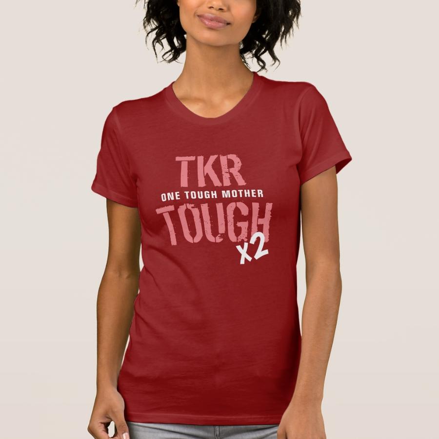 """TKR TOUGH - One Tough Mother x 2"" - Women T-Shirt - Best Selling Long-Sleeve Street Fashion Shirt Designs"