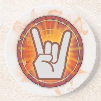 TL;DR I Rock! Beverage Coasters