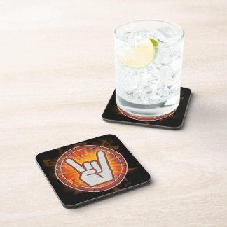 TL;DR I Rock! Beverage Coaster
