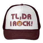 TL; ¡Roca del dr I! Gorros Bordados