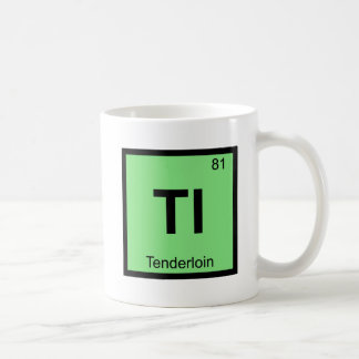 Tl - Tenderloin San Francisco Chemistry Symbol Classic White Coffee Mug