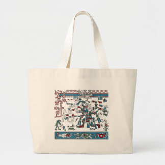 Tlaloc Large Tote Bag