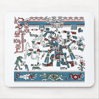 Tlaloc Mouse Pad