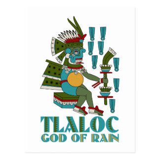 Tlaloc Post Cards