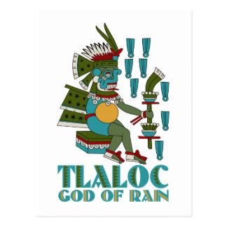 Tlaloc Postcard