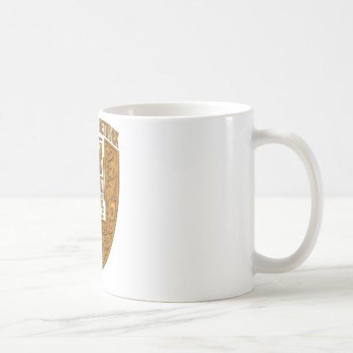 TLASN Gold Shield Logo #3a Classic White Coffee Mug