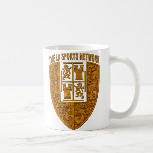 TLASN Gold Shield Logo #3b Coffee Mugs
