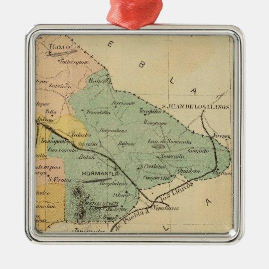 Tlaxcala, Mexico Metal Ornament