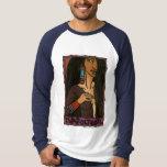 Tlazolteotl Basic Long Sleeved Raglan T-Shirt