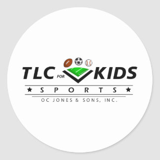 TLC For Kids Classic Round Sticker