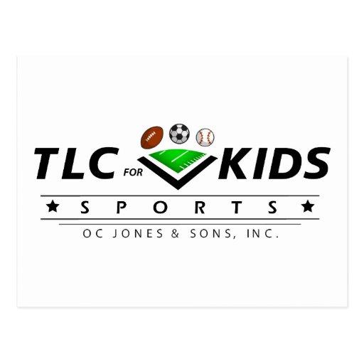 TLC For Kids Postcard