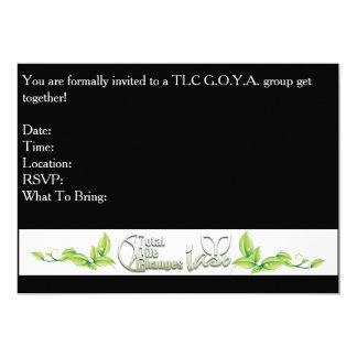 TLC GOYA Group Invitation Card