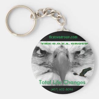 TLC Goya Group Keychain