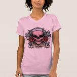 TLC Nurse Skull Shirt