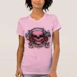 TLC Nurse Skull T Shirt