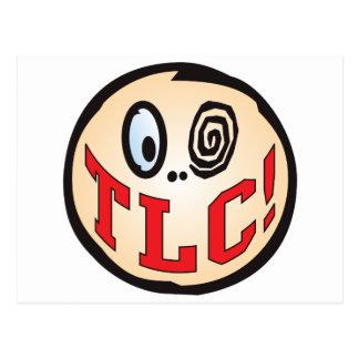 TLC Text Head Postcard