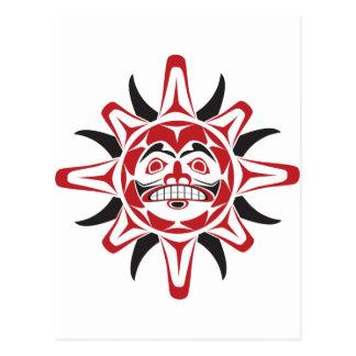 Tlingit Sun Post Card