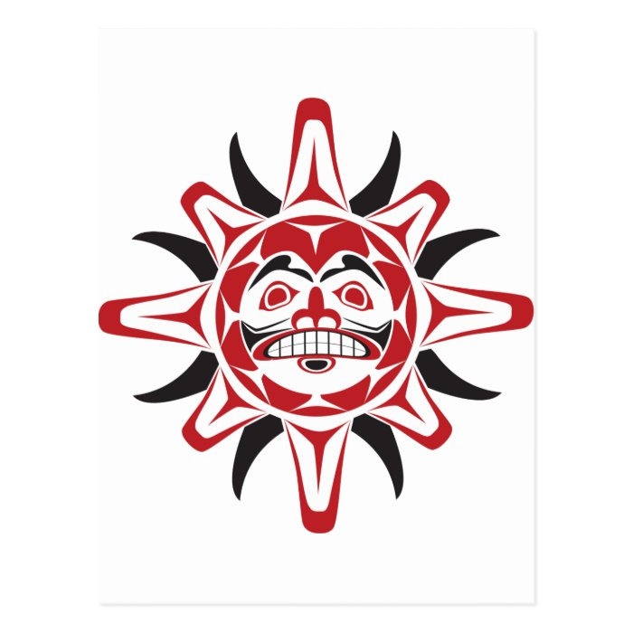 Tlingit Sun Postcard