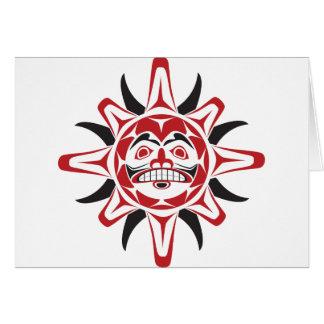 Tlingit Sun Felicitacion