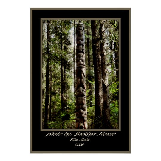 Tlingit Totem Poster