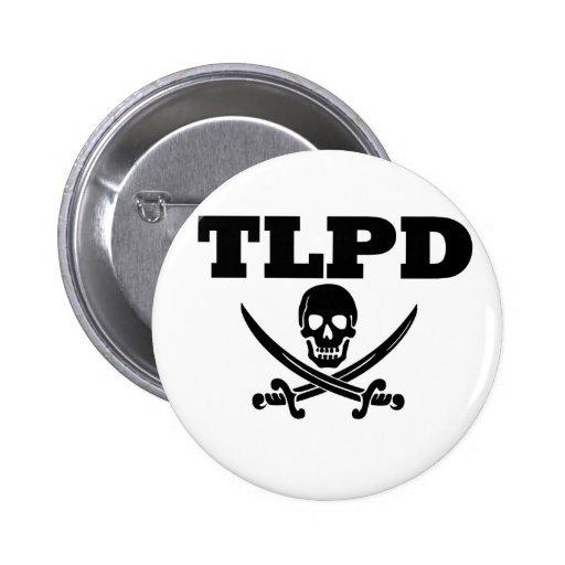 TLPD Talk like a Pirate Day Pinback Button