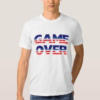 TLT USA  = GAME OVER ??? T-SHIRT