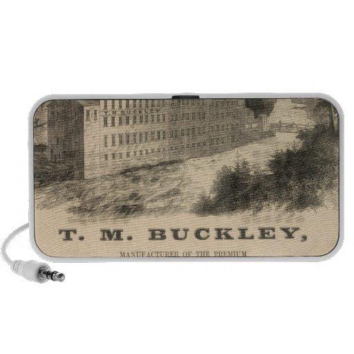 TM Buckley Mp3 Altavoz