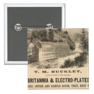 TM Buckley Pin Cuadrada 5 Cm