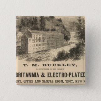 TM Buckley Pinback Button