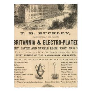TM Buckley Postales
