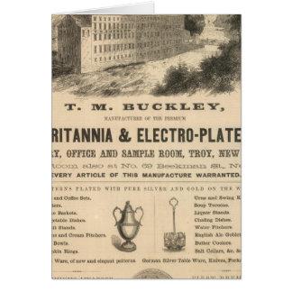TM Buckley Tarjeta De Felicitación
