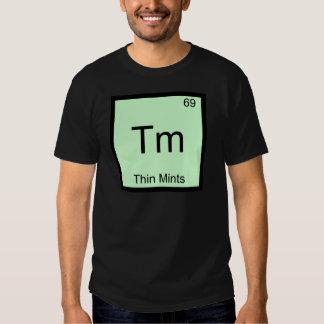 TM - Camiseta divertida del símbolo del elemento Remera