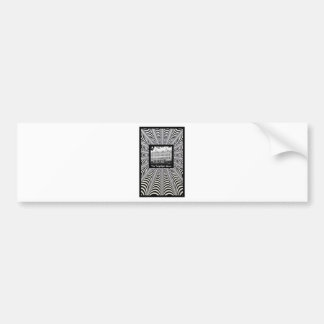 tm myspace background 2 bumper sticker