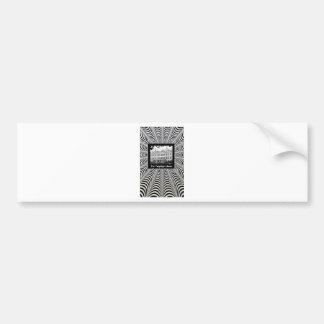 tm myspace background bumper sticker