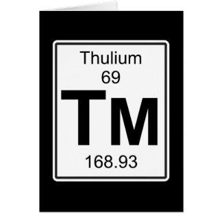 Tm - Thulium Card