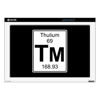 Tm - Thulium Laptop Skins