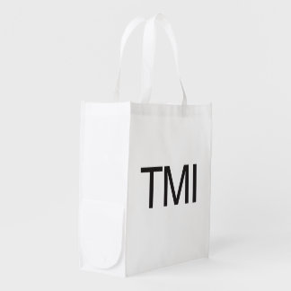 TMI REUSABLE GROCERY BAG