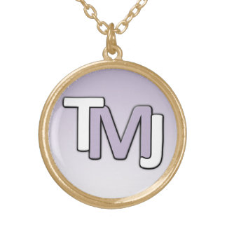 TMJ Chain Gold Plated Necklace