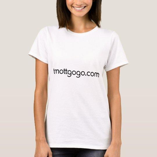 tmottgogo.com (Black Letters) T-Shirt