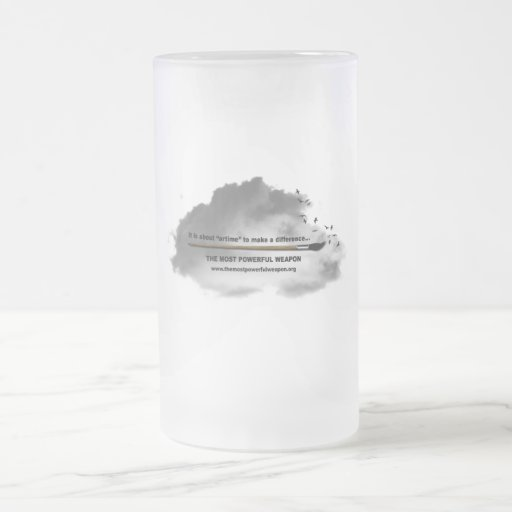 TMPW Frosted Glass Mug Cloud
