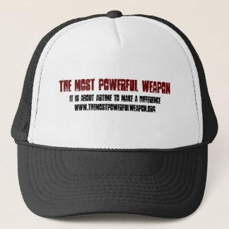 TMPW_Trucker_Red_Text_Hat Trucker Hat
