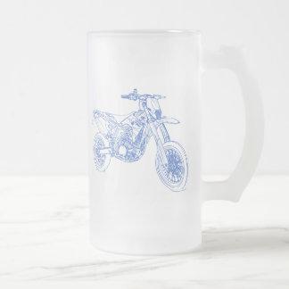 TMR SMR 530 FROSTED GLASS BEER MUG