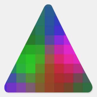 TMT Prelude 2 Digital Art Triangle Sticker