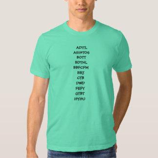 TMWSIY y otros abreviations Playera